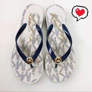 Michael Kors Shoes - Michael Kors Flip Flops Size 10 D247
